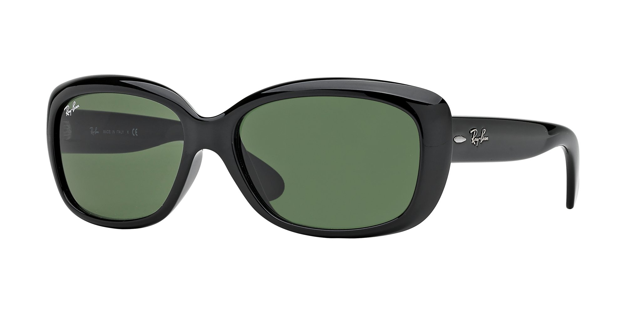 b04ddcda99 Ray-Ban Sonnenbrille Jackie OHH 4101 601 58 Black Green Polarized