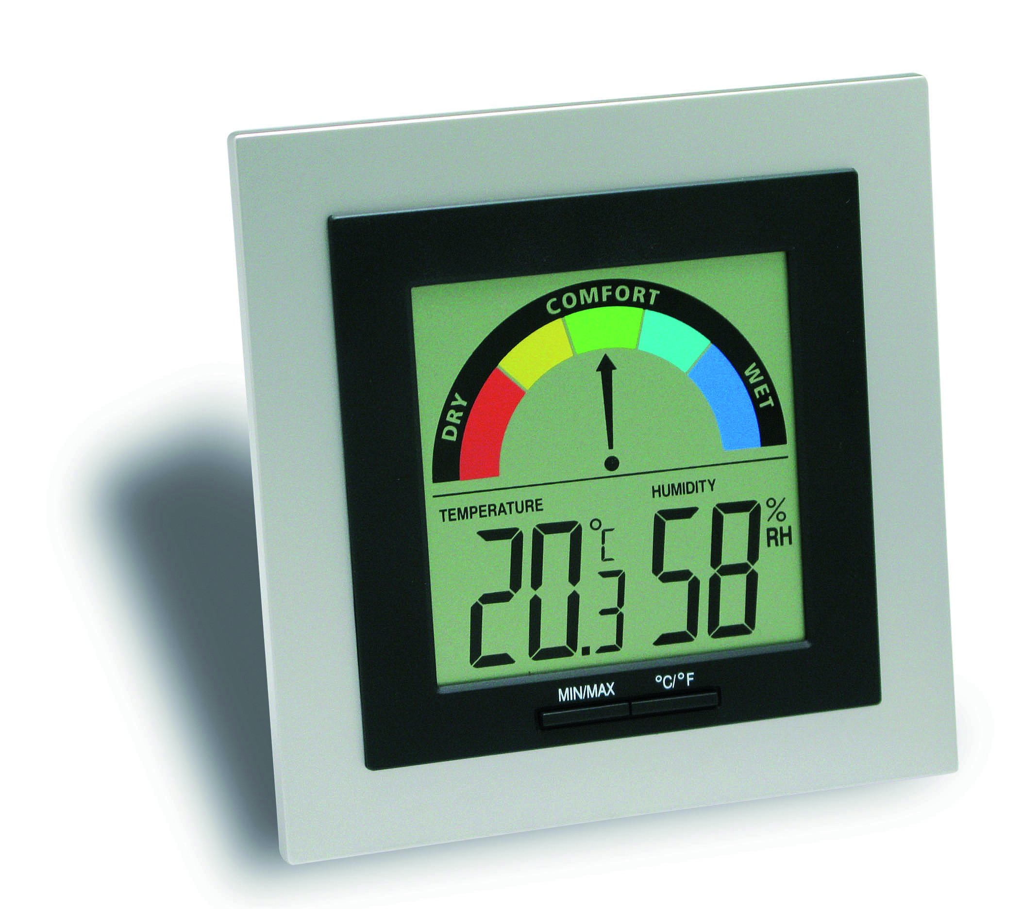 tfa dostmann digital thermo hygrometer ws 9430 ebay. Black Bedroom Furniture Sets. Home Design Ideas