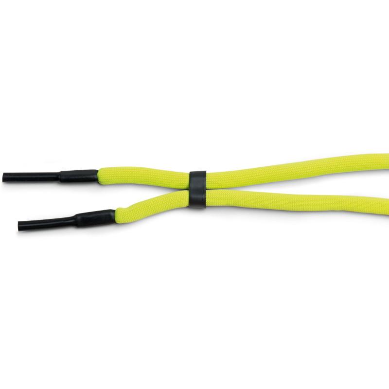 B & S Brillenband mit flexiblen Schlauchenden-Neon Yellow