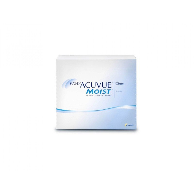 Johnson & Johnson 1-DAY ACUVUE MOIST, 180 Tageslinsen