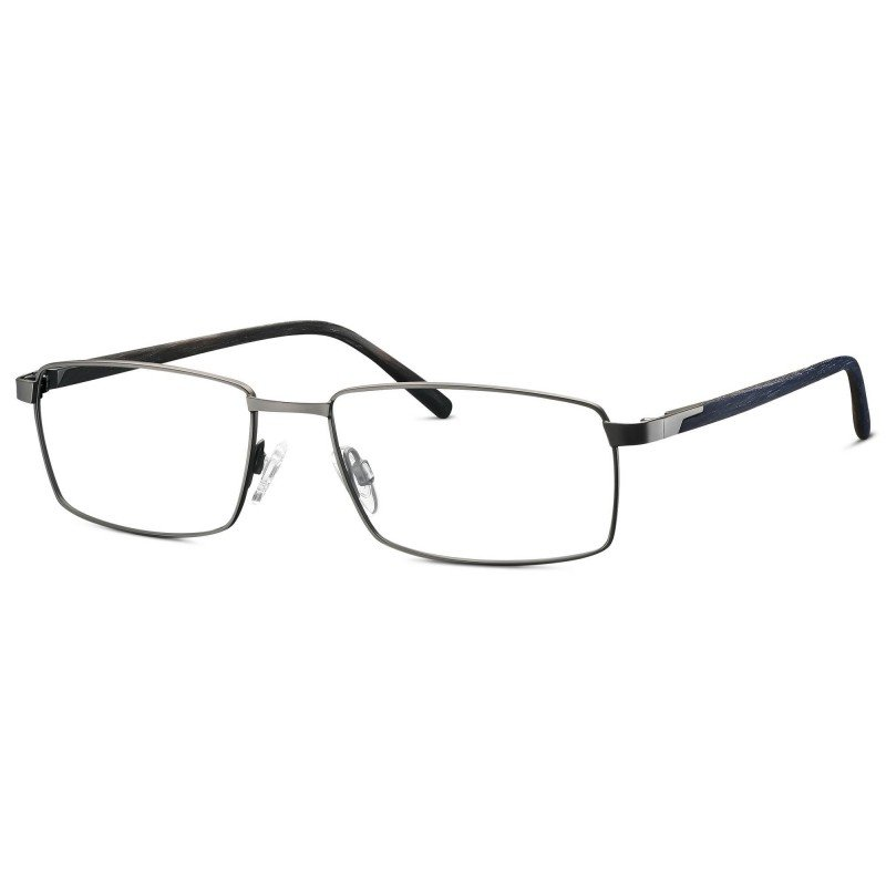 Eschenbach Titanflex® 820698 -Titangrau Matt/Dunkelblau-55/17