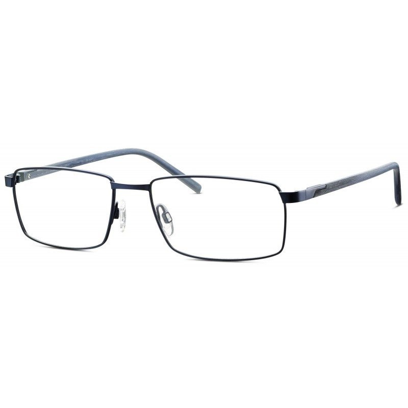 Eschenbach Titanflex® 820698 -Imperialblau Matt/Silbertanne-57/17
