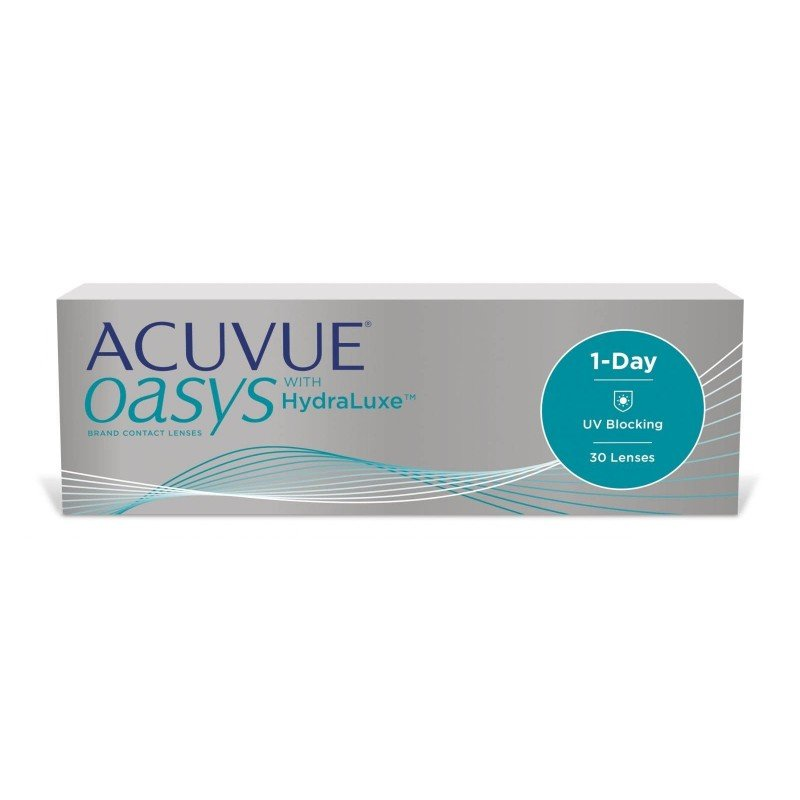 Johnson & Johnson ACUVUE OASYS® 1-Day with HydraLuxe™ Technology, 30 Tageslinsen