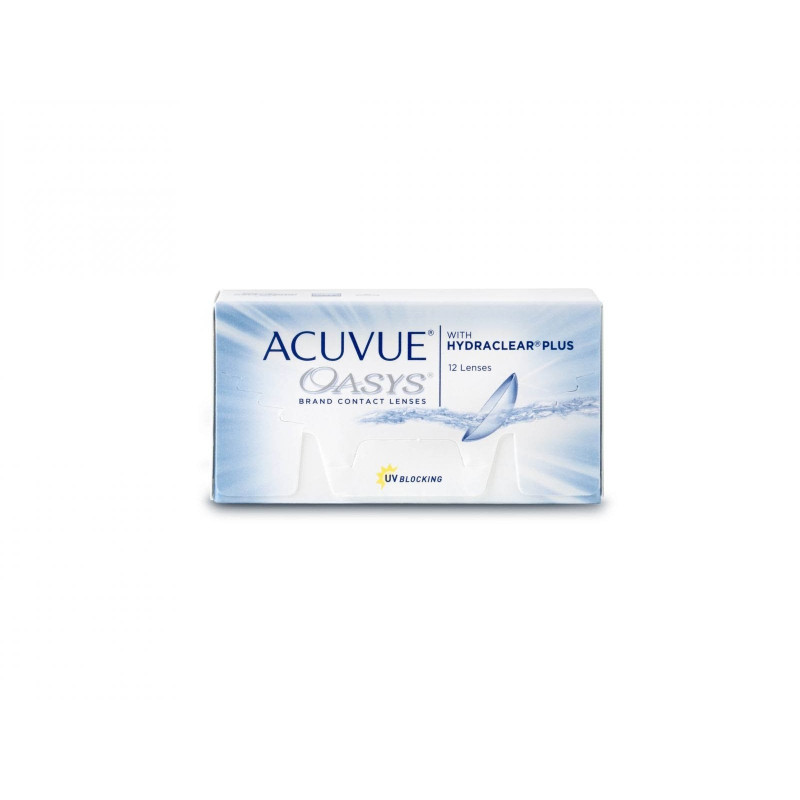Johnson & Johnson ACUVUE® OASYS® with HYDRACLEAR® PLUS, 12 Zwei-Wochenlinsen