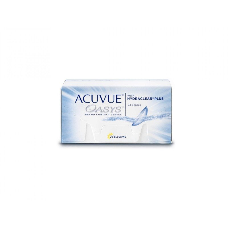 Johnson & Johnson ACUVUE® OASYS® with HYDRACLEAR® PLUS, 24 Zwei-Wochenlinsen