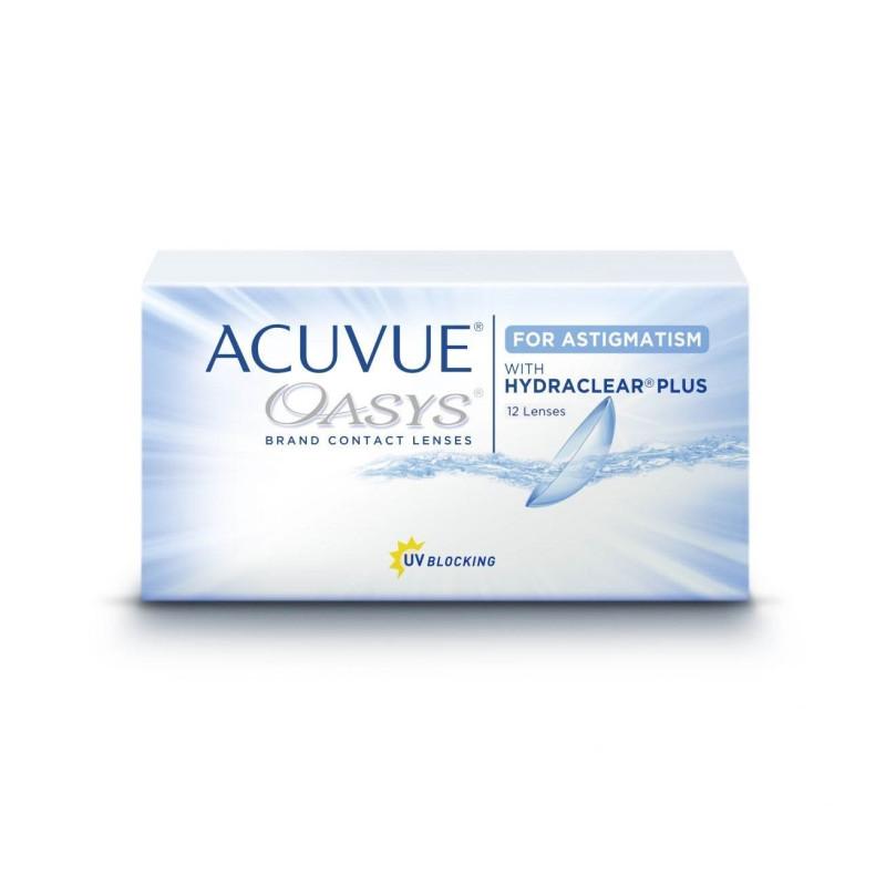 Johnson & Johnson ACUVUE® OASYS® for ASTIGMATISM, 12 Zwei-Wochenlinsen