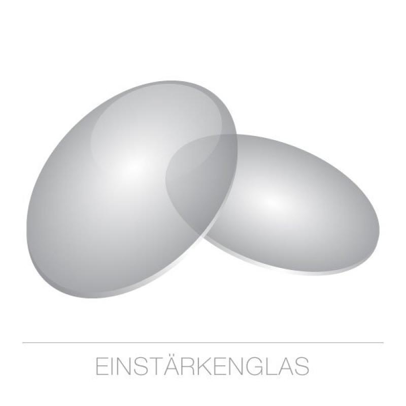 Einstärkengläser Kunststoff-1,6-grau 75%-HARD Rück-SET