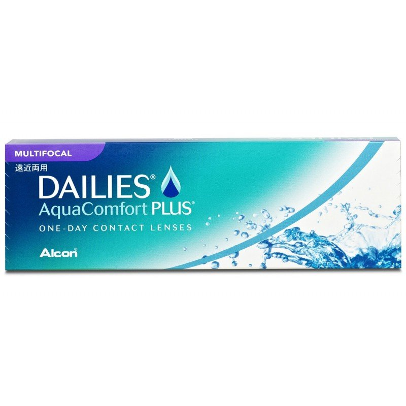 Alcon DAILIES® AquaComfort Plus® Multifocal, Tageslinsen