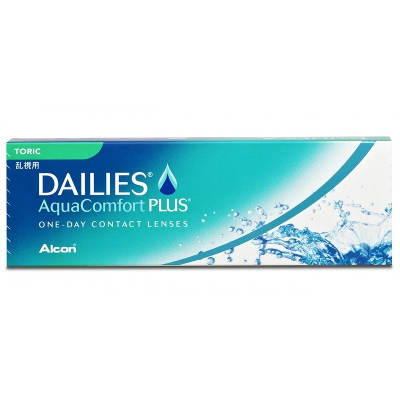 Alcon Focus DAILIES Aqua Comfort Plus Toric, 30er Pack Tageslinsen