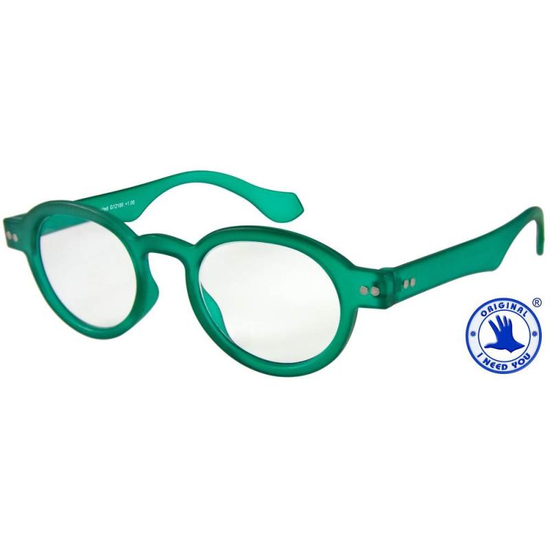 Doktor Limited in grün, Stärke +1,00 Dioptrien seitenansicht
