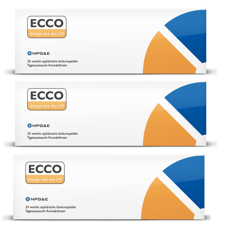 MPG&E Ecco Change One-Day UV, 90 Tageslinsen