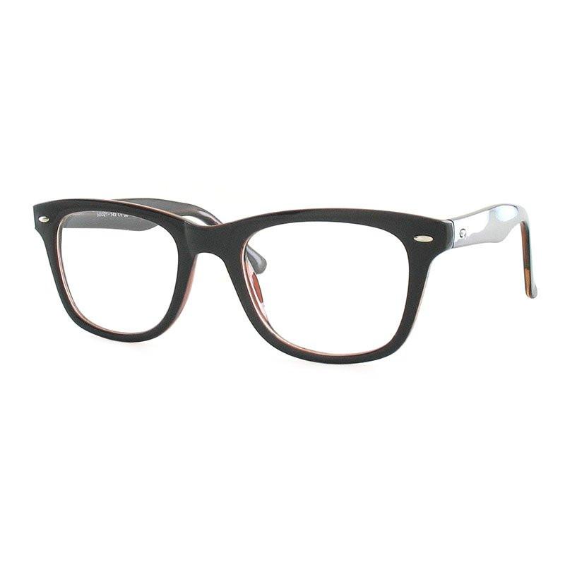 Premium Lesebrille / Fertiggleitsichtbrille Eva-schwarz-braun-+ 1,00