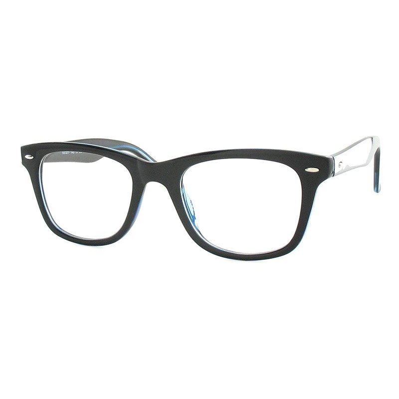 Premium Lesebrille / Fertiggleitsichtbrille Eva-schwarz-dunkelblau-+ 2,00