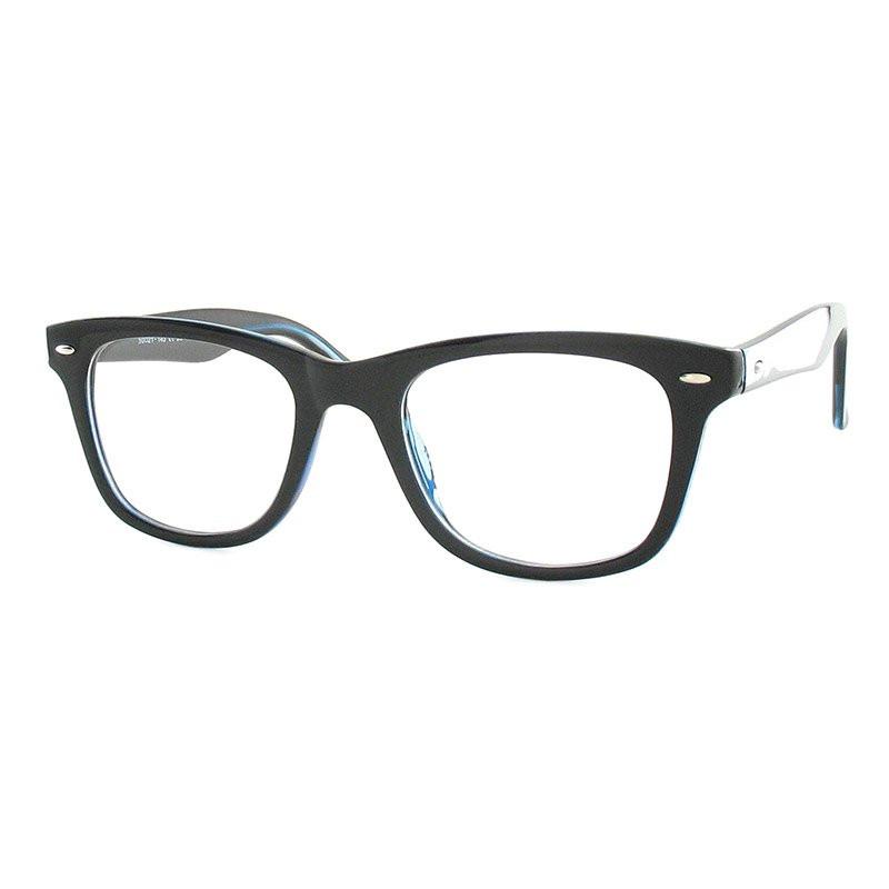 Premium Lesebrille / Fertiggleitsichtbrille Eva-schwarz-dunkelblau-+ 3,50
