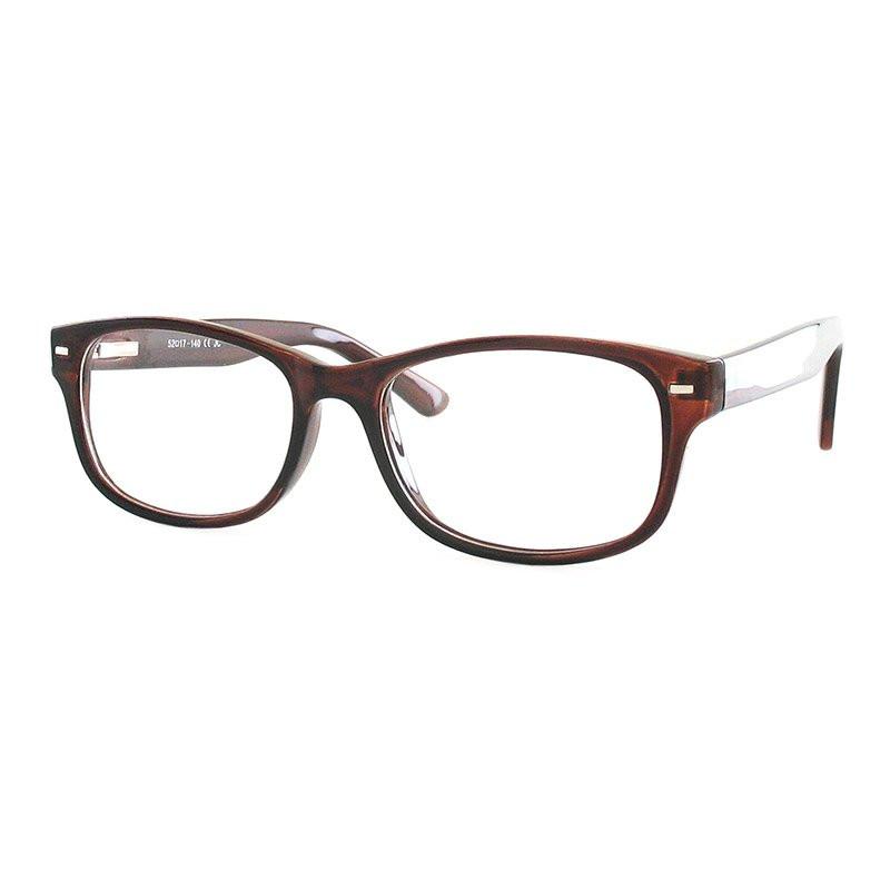 Fertiggleitsichtbrille Luturna bordeaux +3,0