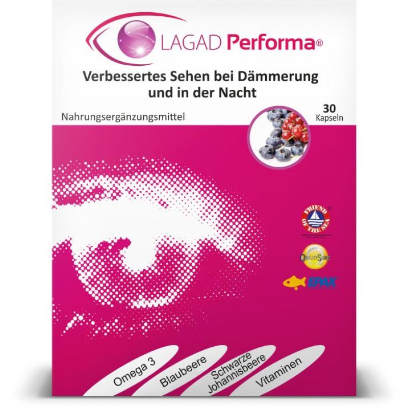 LAGAD Performa® 30 Kaps Augenvitamine