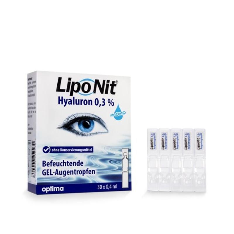 Lipo Nit® Augentropfen Gel MONO 0,3 % (30x04ml)