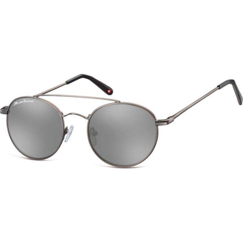 Montana Eyewear MS91-Grau-Silber Revo