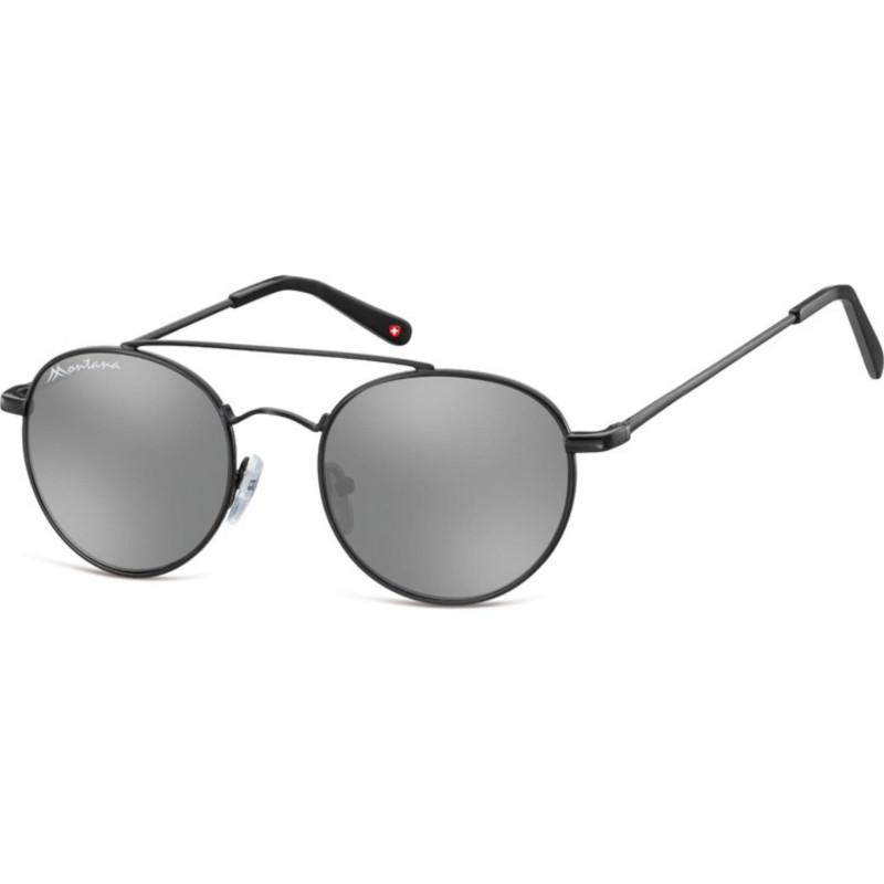 Montana Eyewear MS91-Schwarz-Silber Revo