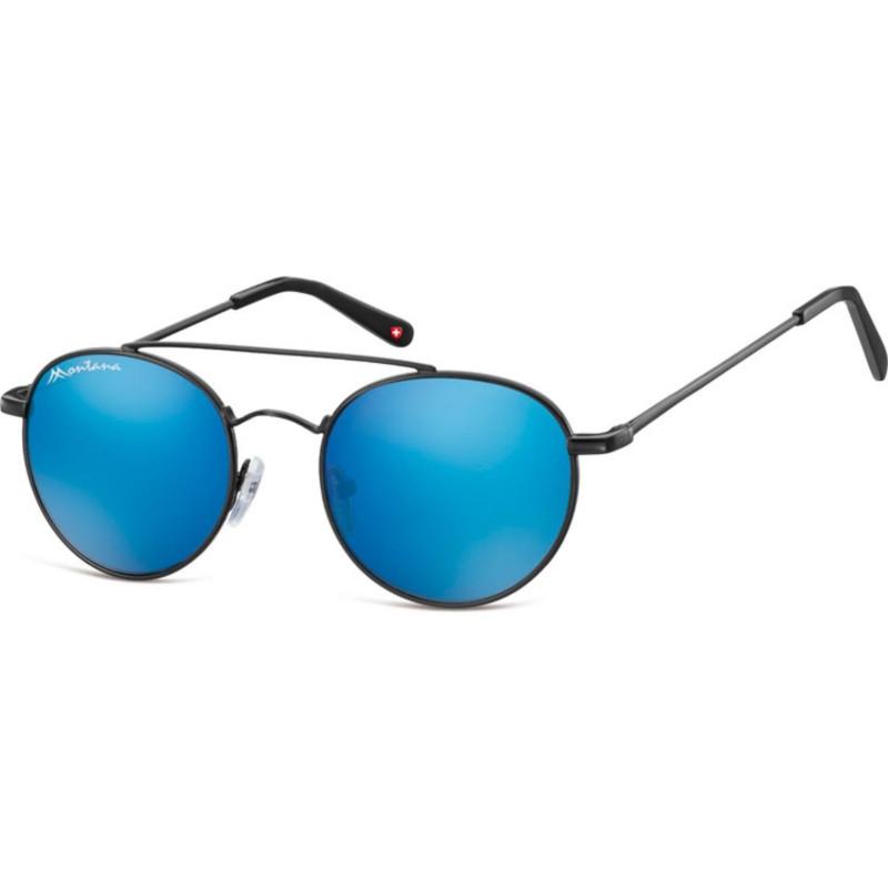Montana Eyewear MS91-Schwarz-Silber Revo 632zhM6