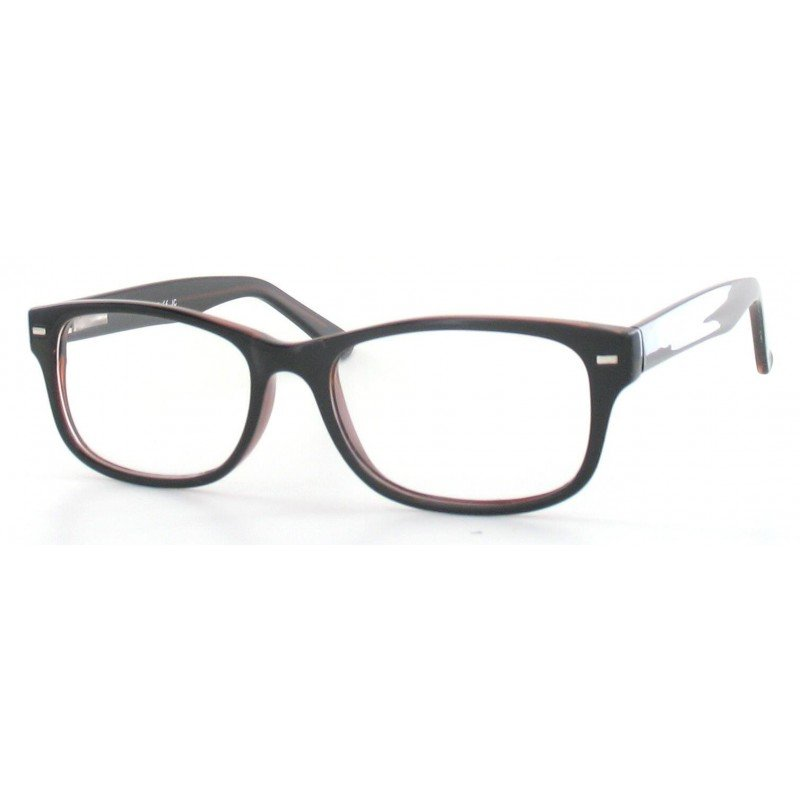 Fertiggleitsichtbrille Luturna schwarz-braun +3,0