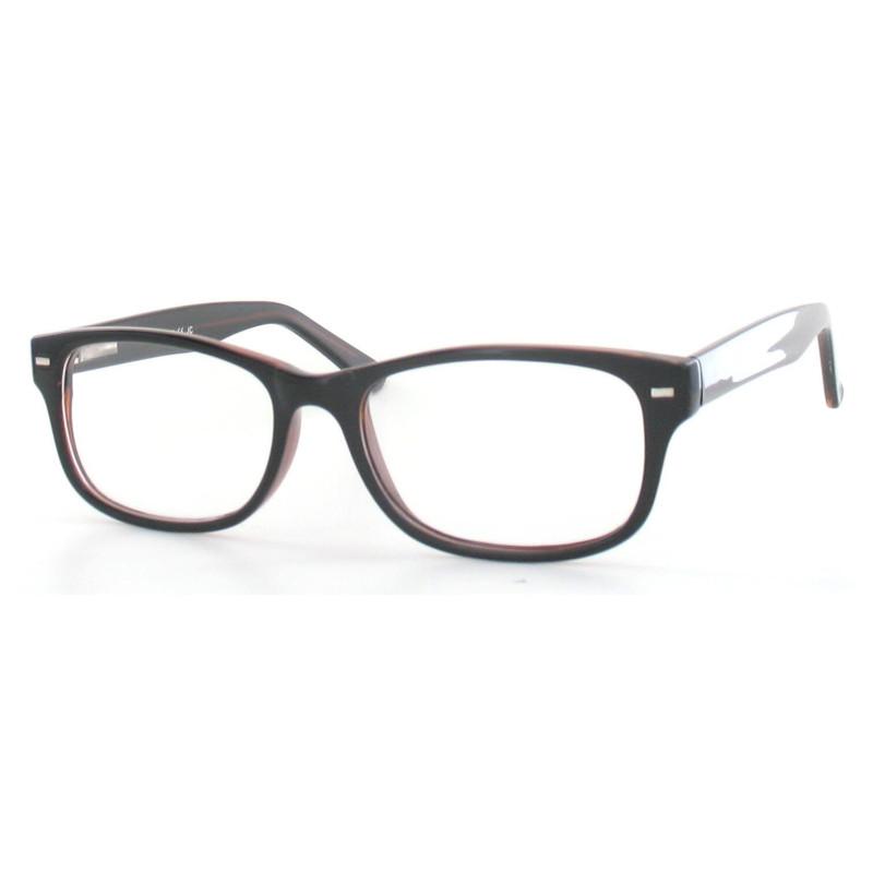 Fertiggleitsichtbrille Luturna schwarz-braun +3,5