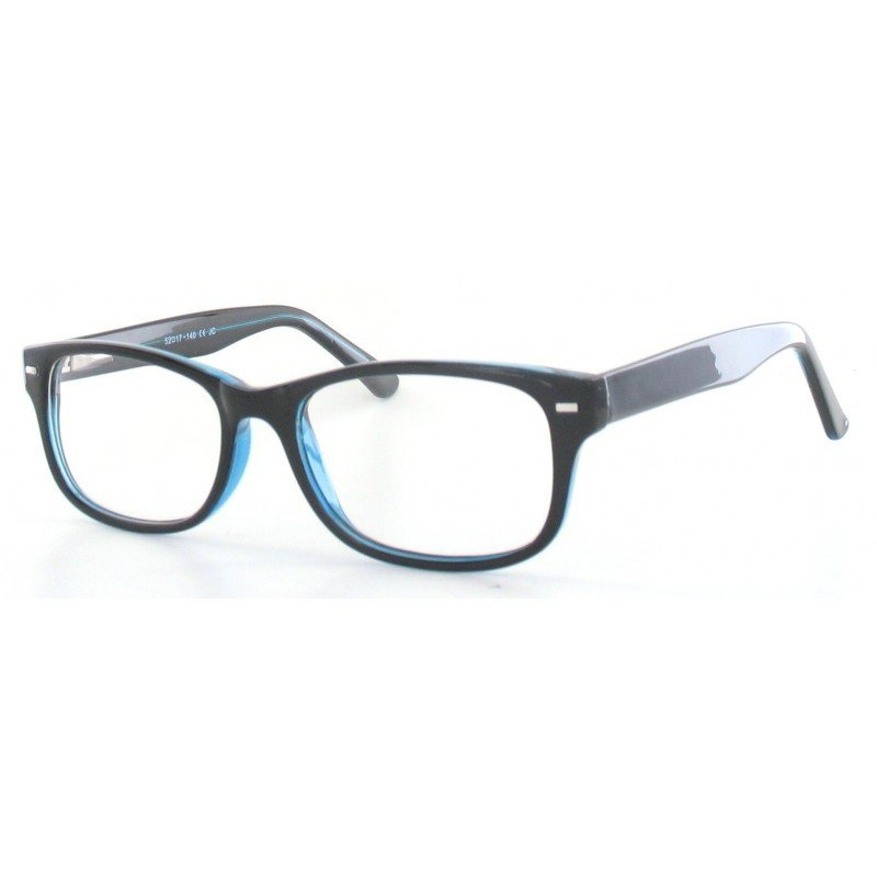 Fertiggleitsichtbrille Luturna schwarz-dunkelblau +1,0