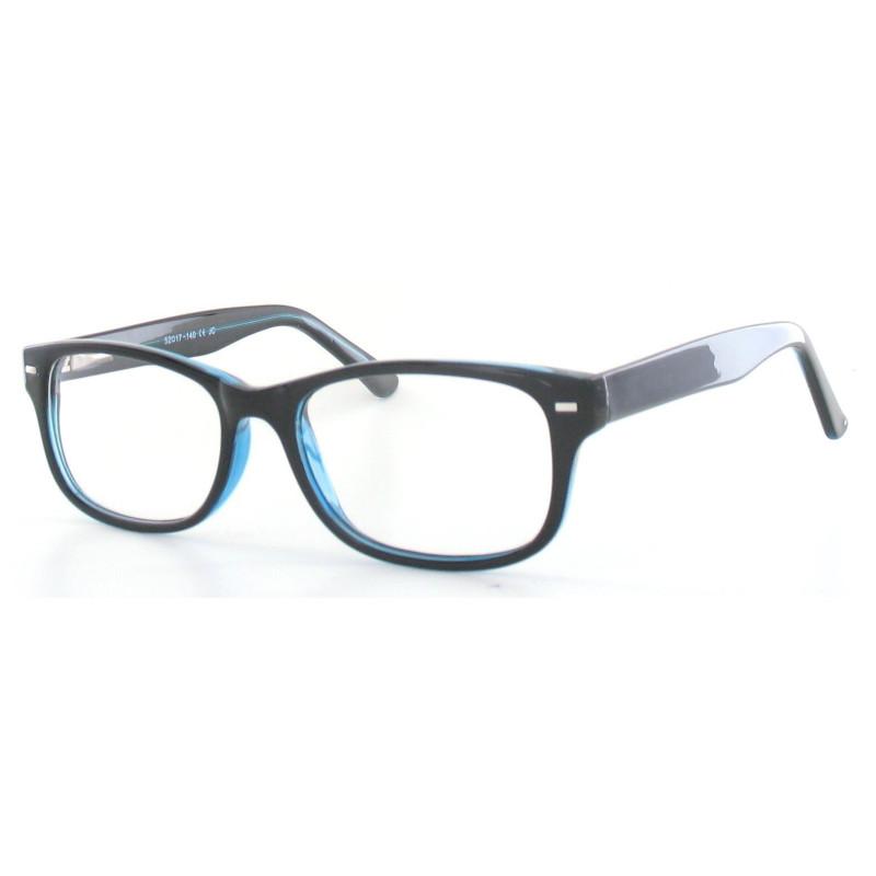 Fertiggleitsichtbrille Luturna schwarz-dunkelblau +3,5