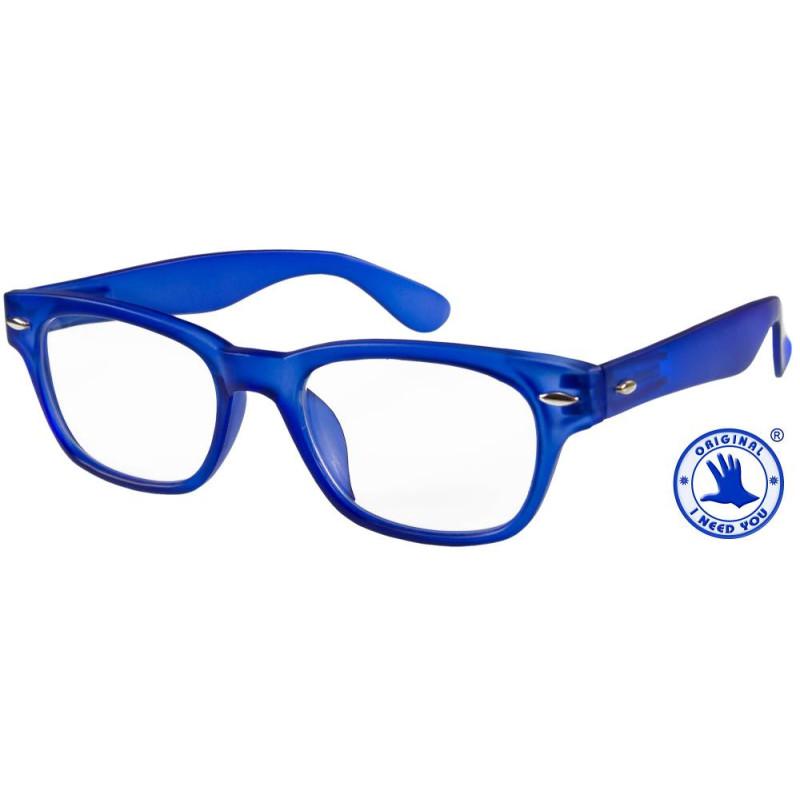 Woody limited in blau, Stärke +2,50 Dioptrien seitenansicht