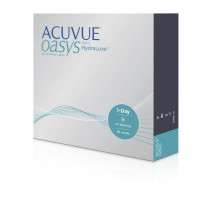 Johnson & Johnson ACUVUE OASYS® 1-Day with HydraLuxe™ Technology, 90 Tageslinsen