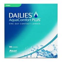 Alcon Focus DAILIES Aqua Comfort Plus Toric, 90er Pack Tageslinsen