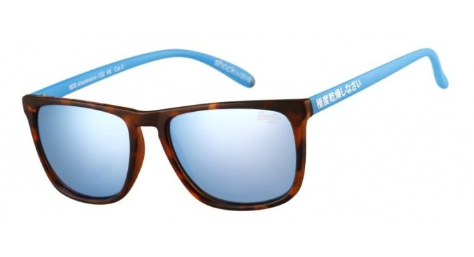 Sonnenbrille Superdry Shockwave scratch tort matt Kd0h8xwN