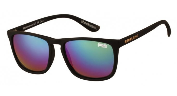 Sonnenbrille Superdry Shockwave orange camouflage matt fluro XRyg6mOaru